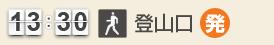 13:30 上野道登山口(発)