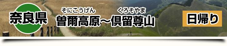 曽爾高原~倶留尊山~お亀の湯(曽爾高原温泉) 奈良県日帰り