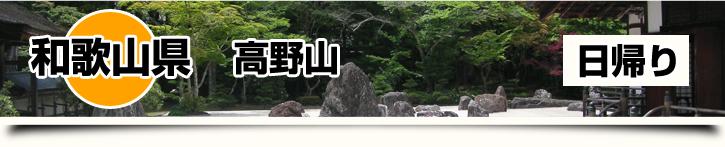 和歌山県-高野山 日帰り